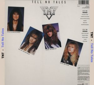 TNT - Tell No Tales - Back